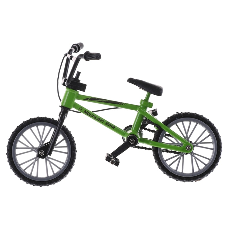 Cute Finger Mini Fake Toy Bike Model Bicycle BMX Mountain 1:10 Simulation Alloy Not Real New Gifts Kids Men