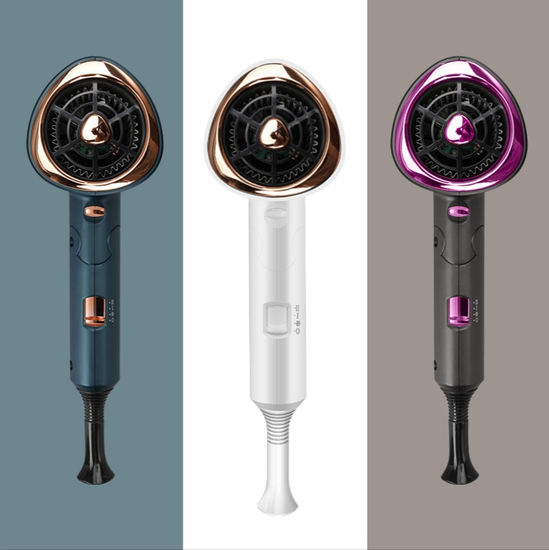 Professional Folding Hair Dryer 110V-220V 1200-1800W  Hot And Cold Air Volume Switch For  Home Hairstylist Hairdryers enlarge