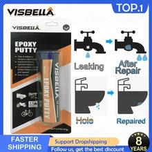 VISBELLA эпоксидный клей для шпатлевки, клей для волшебного стекла, керамики, холодильника, водопровода, дерева и резины, инструменты для ухода за ремонтом 57 г