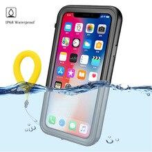 Водонепроницаемый чехол с защитой 360 градусов для Apple iPhone 12 Pro Max, жесткий водонепроницаемый чехол из поликарбоната для iPhone 11 Xr Xs X iPhone12 Mini, чехол