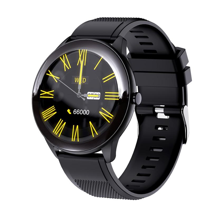 Tela de Toque Relógio de Freqüência Faixa de Fitness Smartver para Ios Relógio Inteligente Série 6 Completa Cardíaca Multi-esportes Android 2021 Novo Sn93 Iwo