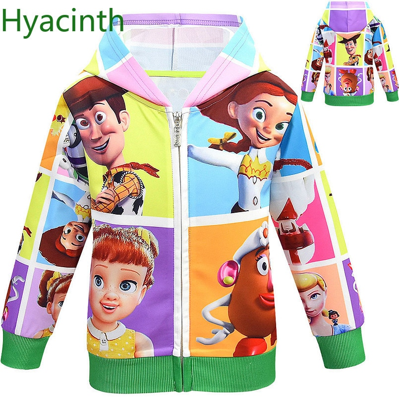 Toy story shirt buzz lightyear chaqueta para niños ropa para bebés niños con capucha para niños niñas chaquetas jojo siwa abrigo ropa de Navidad