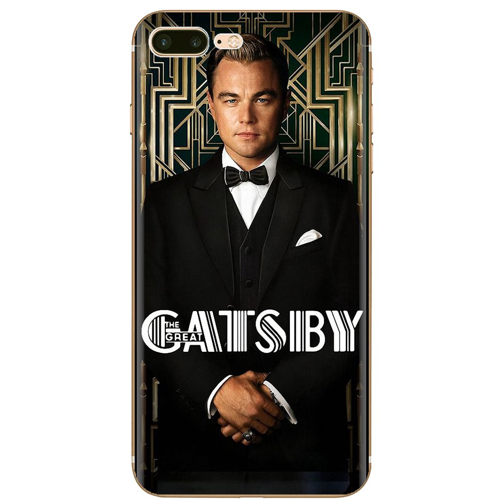 Para Samsung Galaxy J1 J2 J3 J4 J5 J6 J7 J8 Plus 2018 primer 2015 de 2016 de 2017, cubierta del teléfono de silicona, el gran Gatsby 2013 Cartel de la película
