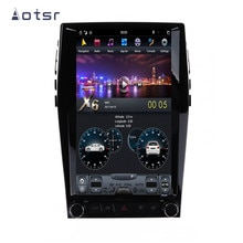 AOTSR-AutoRadio Tesla 1 Din Android 9   Coche de lautoradio Ford Edge 2015-2019, lecteur multimédia, GPS, Navigation CarPlay, IPS