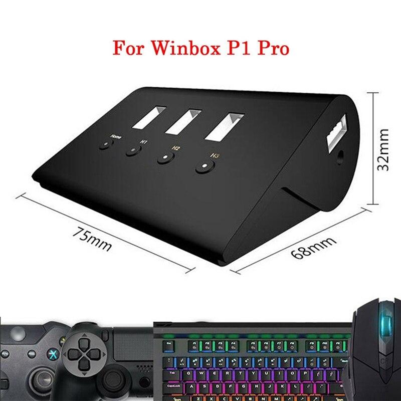 P1 Pro Teclado ratón convertidor adaptador Hub para Winbox Ps4 Xbox X1 Nintendo Switch Pc juegos controlador Accesorios