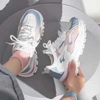 2021 spring and autumn new versatile dad shoes female student small white shoes korean leisure thick soled sports running shoes