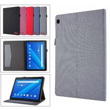 "Case For Lenovo Tab M10 TB-X505F TB-X605L TB-X605 10.1"" Smart Cover Funda Light weight Magnetic Folding Skin Stand Shell + pen"