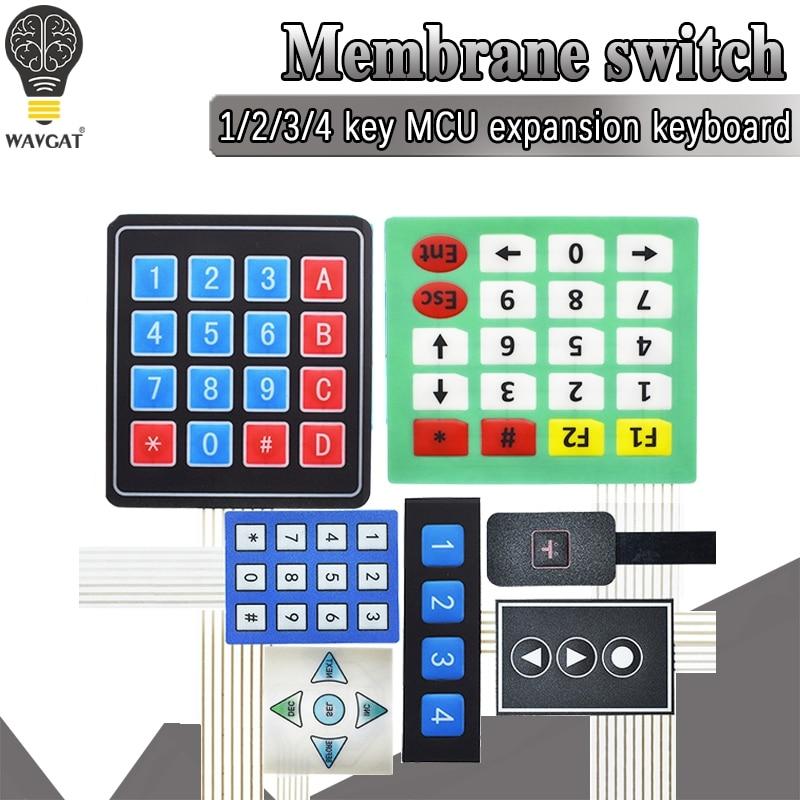 Кнопочная панель 4x4 с 16 клавишами, матр