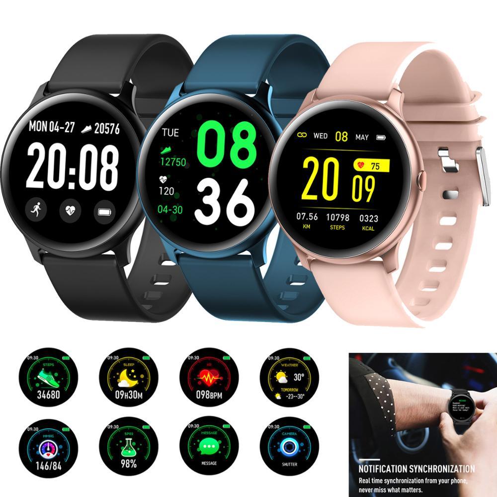 Women Girls Luxury Fashion Smart Watch Sleep Heart Rate Monitor Bluetooth Wrist Watches For Women Men Smartphones iOS Android