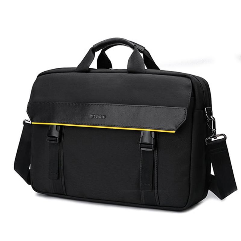 YINUO  Men Shoulder Bags Top Quality Laptop Brieftcase 15.6