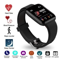 116 plus d13 smart watch bracelet band blue tooth heart rate blood pressure monitor silicone fitness tracker sport smart watches