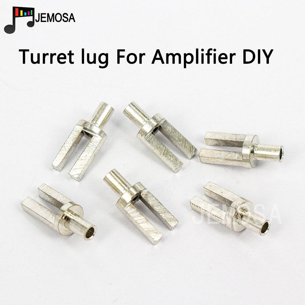 DIY Project Turret lug Audio Tag Board Turret Board Terminal Board For Tube Amplifier DIY Kit nickel Y Type Turret