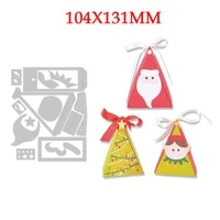 2021 new santa claus metal cutting dies for diy embossing decoration greeting card background paper scrapbooking christmas