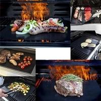 510pcs non stick bbq grill mat barbecue cooking reusable sheets baking mats