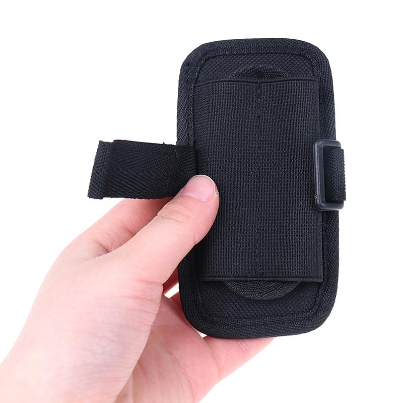 nylon flashlight case w cover 360 Degrees Rotatable Nylon Flashlight Holster Torch Case Pouch Cover Small Size