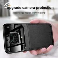 for xiaomi redmi note 9s case mirror plexiglass pu leather shockproof case for xiaomi redmi note 9 pro max back cover