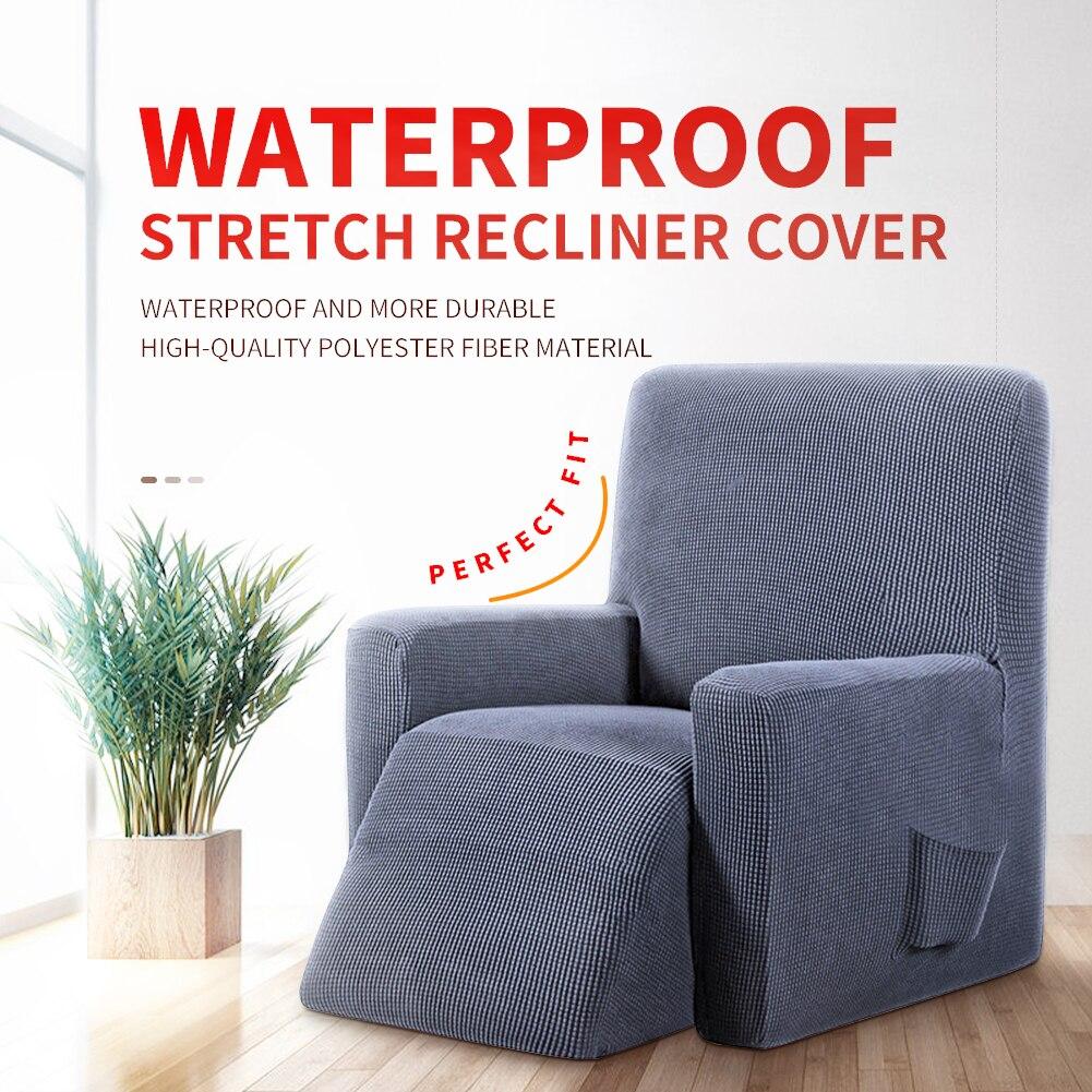 Meijuner-غطاء أريكة مقاوم للماء قابل للتمدد ، غطاء أثاث بسيط ، كرسي بذراعين ، كرسي بذراعين ، صلب