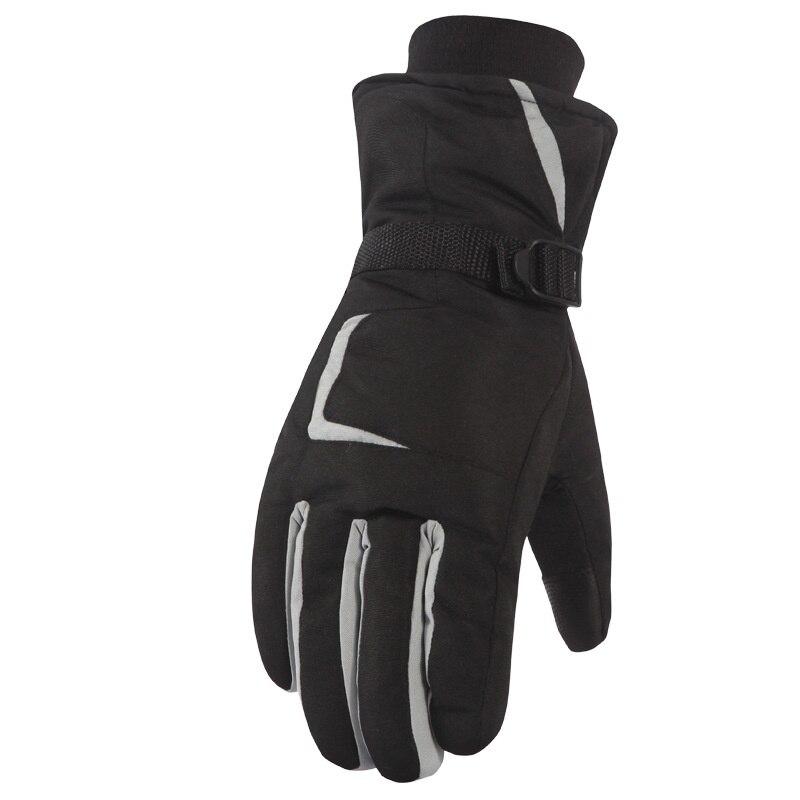 Лыжные перчатки с сенсорным экраном для женщин и мужчин ветрозащитные