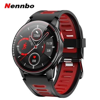 Новинка 2020, умные часы L6, IP68, водонепроницаемые, спортивные, для мужчин и женщин, Bluetooth, умные часы, фитнес-трекер, пульсометр для Android IOS