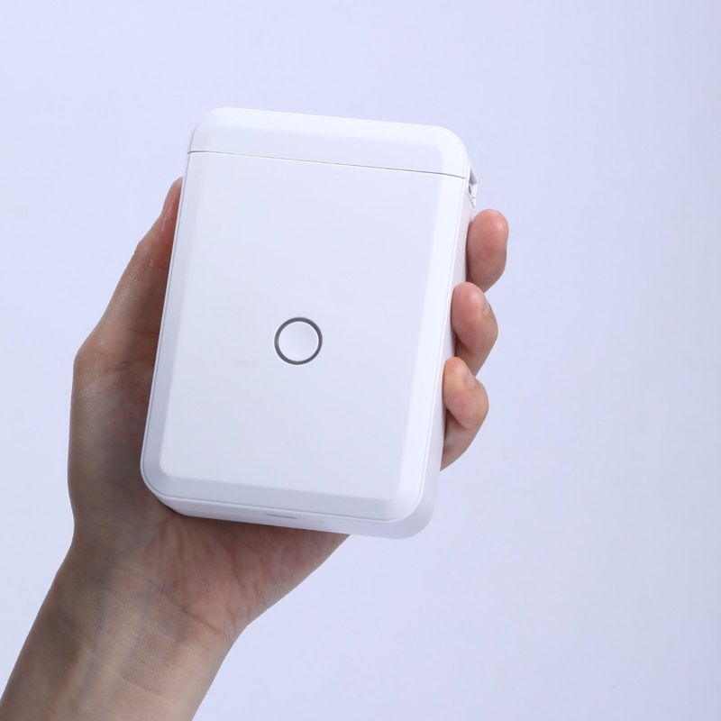 Niimbot D110 تسمية طابعة الحرارية طابعة ملصقات صغيرة تسميات لفة ورق استبدال التسمية صانع ملصقات مكتب المنزل الطابعات