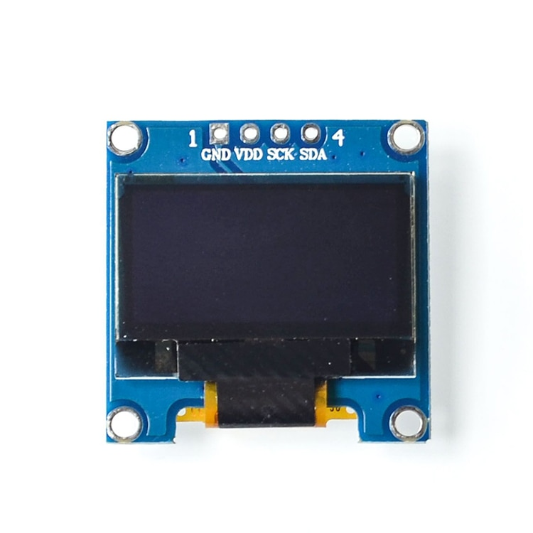 blue white oled lcd display 0 91 inch 128x32 iic i2c serial diy module ssd1306 driver ic 0 91 12832 ssd1306 for arduino pic 0.96 inch IIC Serial OLED Display Module Yellow Blue 128X64 I2C SSD1306 12864 LCD display Screen Board 0.96 for Arduino