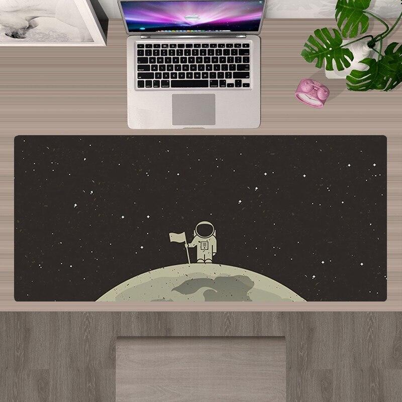 Большой коврик для мыши с астронавтом, милые игровые аксессуары, 90X3 0, коврик для мыши XXL, коврик для мыши, игровой коврик для мыши, коврик для ...