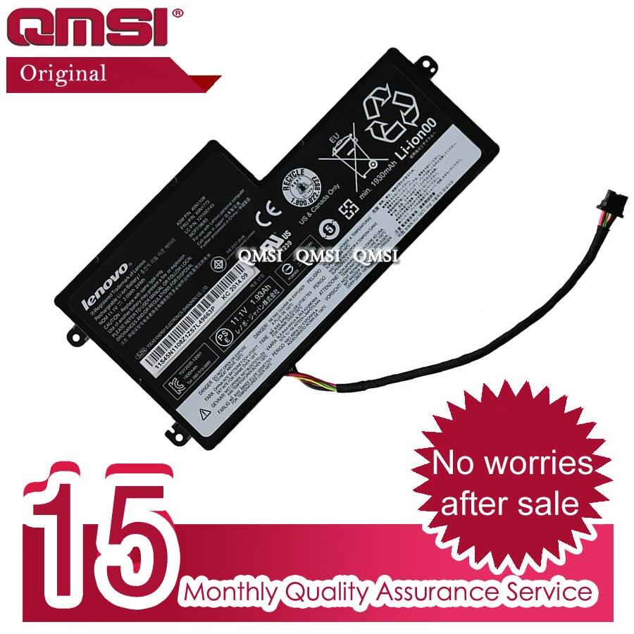QMSI, batería Interna Nueva Original de 11,1 V 24Wh para Lenovo ThinkPad T440 T440S T450 T450S X240 X250 X260 45N1110 45N1111 45N1773