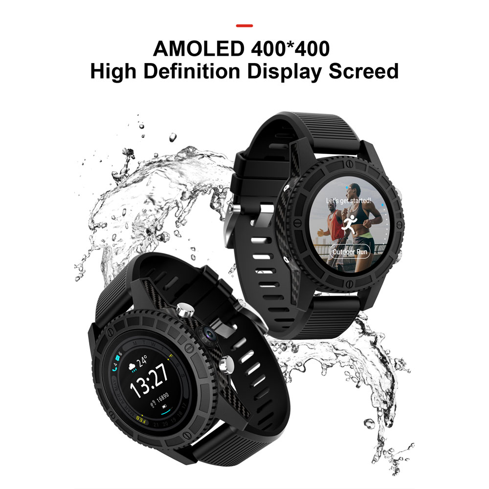 696 4G LTE ronda reloj inteligente i7 Android 7,0 soporte Wifi Hotspot Bluetooth reloj inteligente pk apple Watch PK kw88