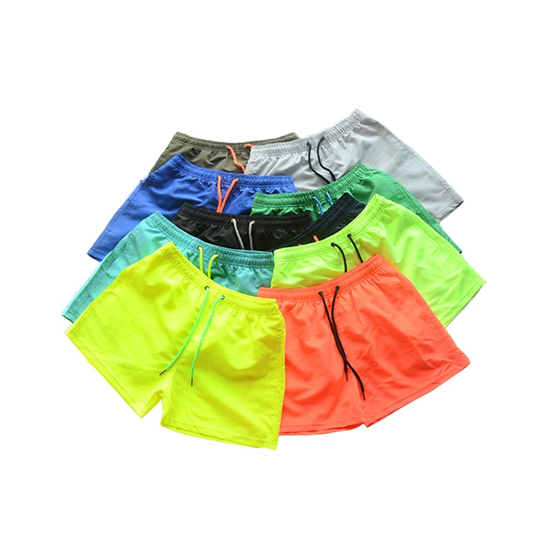 2020 NEW Men's Running Shorts Mens 10 color Sports Shorts Male double-deck Quick Drying Sports men Shorts Jogging Gym Shorts men