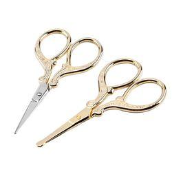 1 pçs retro aço inoxidável prego clipper tesoura pedicure guarnição cutícula limpeza guarnição ferramentas de maquiagem afiada cortador manicure acessório