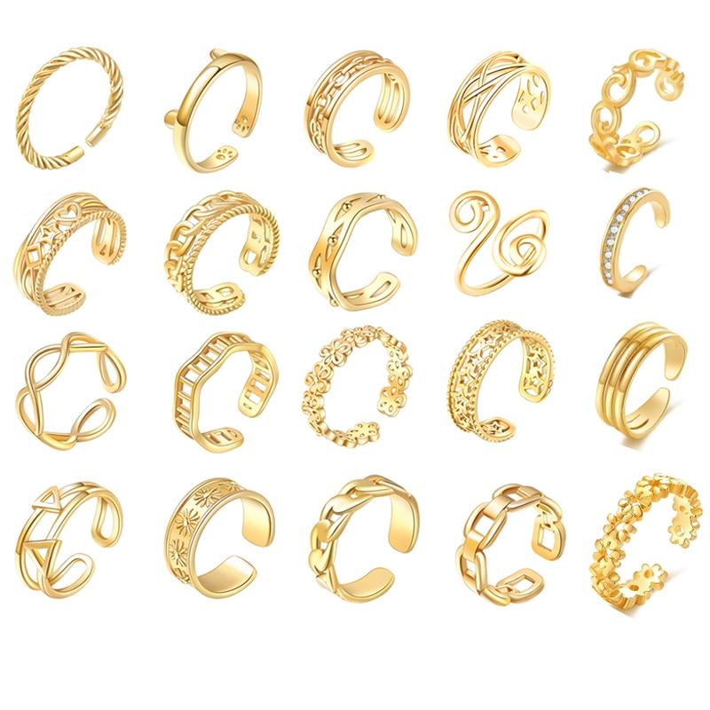 anillos-ajustables-de-punta-abierta-para-mujer-y-nina-joyeria-para-pie-de-playa-con-ondas-en-forma-de-corazon-disenos-multiples-bricolaje-tamano-pequeno-verano