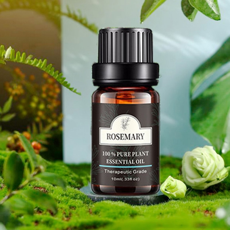 3/6/8 Bottle/box 10ml Aromatherapy Pure Essential Oil Set Aroma Diffuser Peppermint Lavender Plant Scented Body Massage Oil недорого
