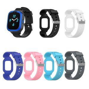 Universal Silicone Watch Band Wrist Strap For HUAWEI Children Smart Watch 3 Honor Small K2 Belt Bracelet Watch Accessories