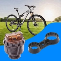 bike adjustment knob with wrench for xcr xcm front fork preload 25 427 530mm adjuster with wrench spanner bicycle repair tools