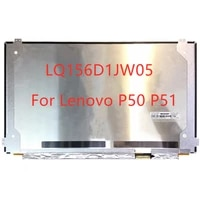 15 6 lq156d1jw05 laptop lcd screen for lenovo p50 p51 3840x2160 uhd 40pins display matrix panel replacement non touch