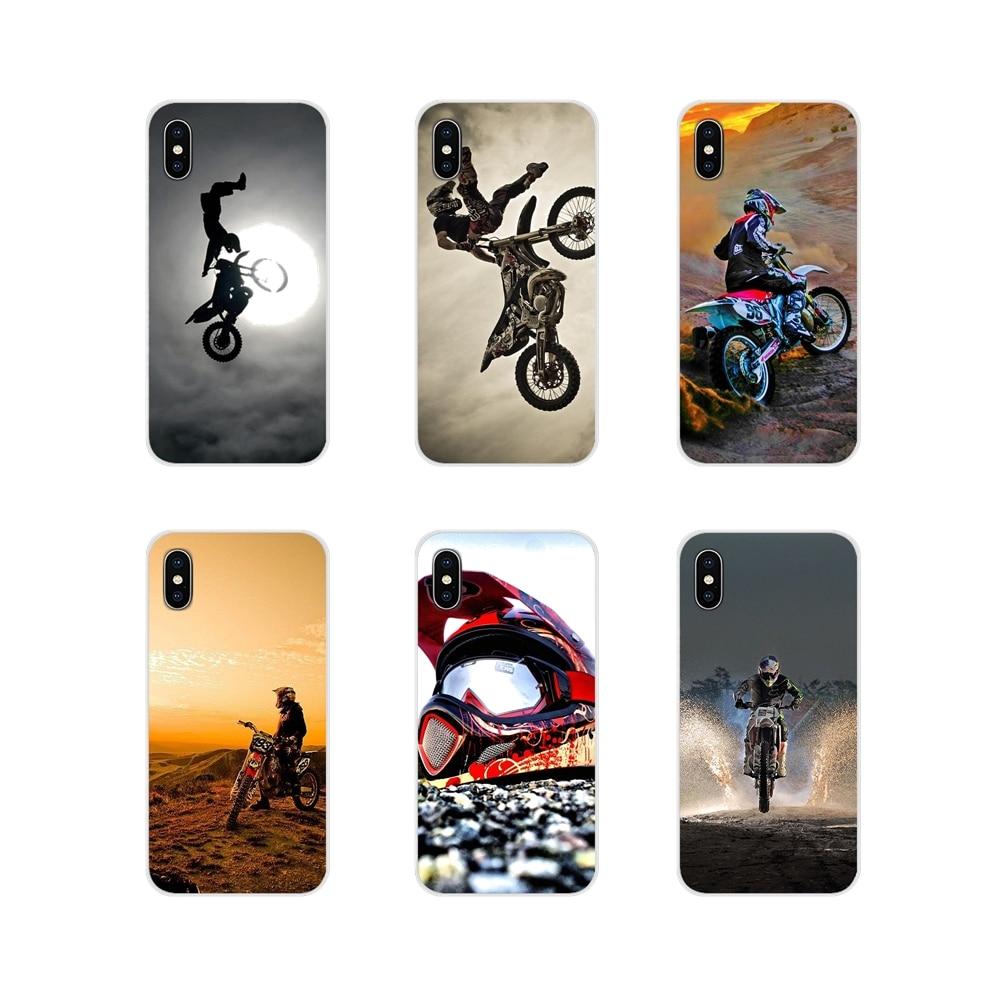 Diseñador caso motos moto rcycle Carrera de motocross para Huawei G7 G8 P8 P9 P10 P20 P30 Lite Mini Pro P Smart Plus 2017 de 2018 de 2019