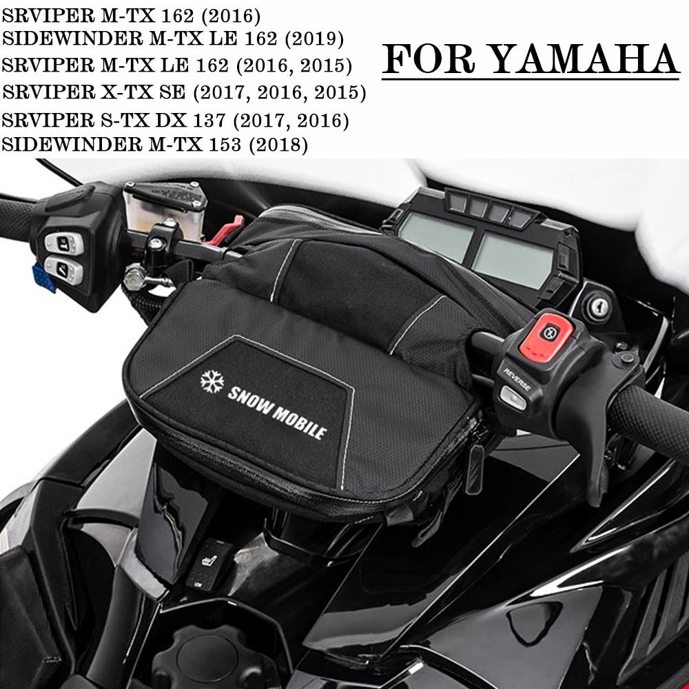 Snowmobile Handlebar Bag waterproof bag FOR YAMAHA SIDEWINDER M-TX 153 M-TX LE 162  M-TX SE 162 SRVIPER M-TX SE 153 M-TX SE 162 trek marlin 5 wsd 29 2019 размер 153 162