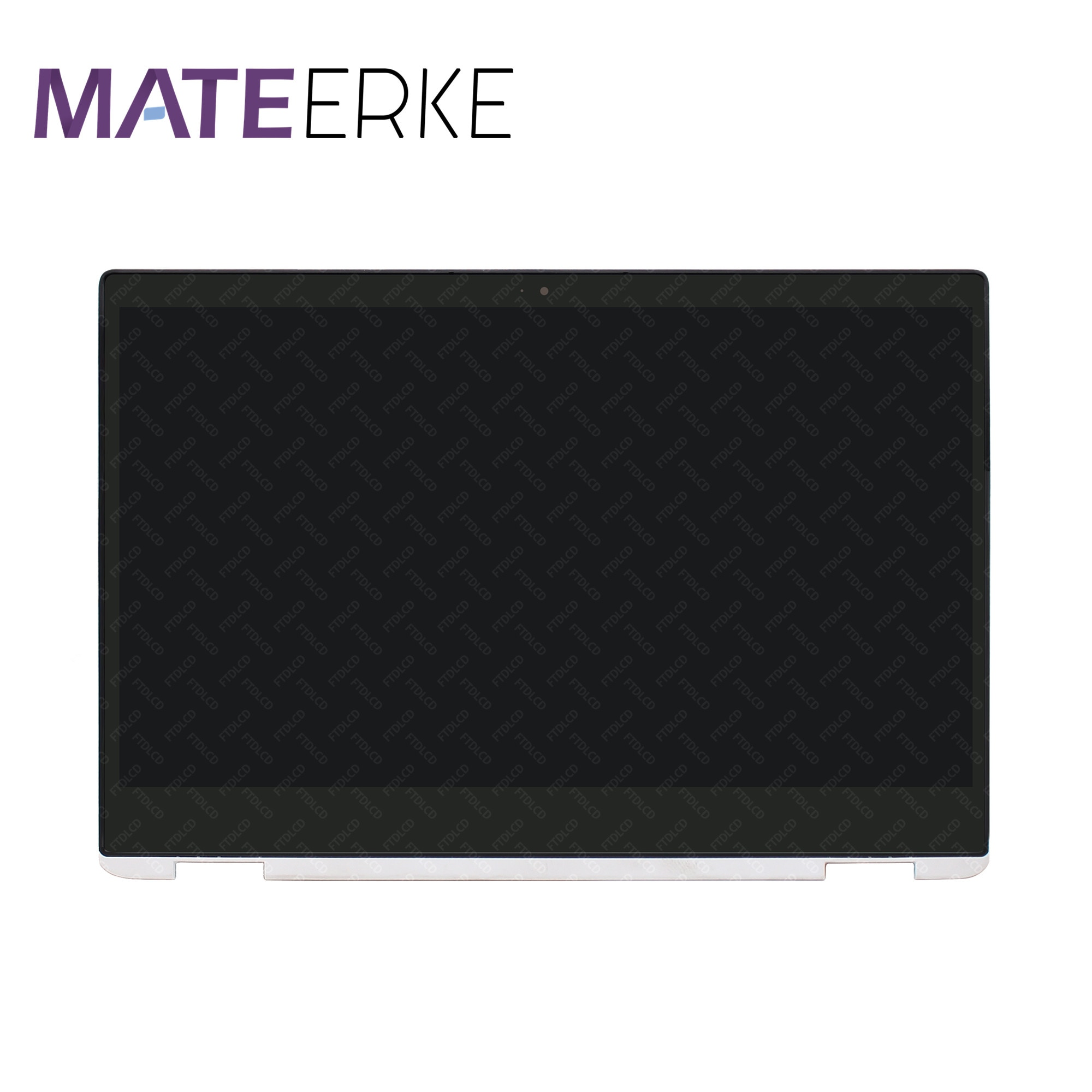 شاشة لمس LCD مقاس 14 بوصة عالية الدقة مع إطار لجهاز HP Chromebook x360 14-da 14-da0000 14-da0011dx 14-da0012dx