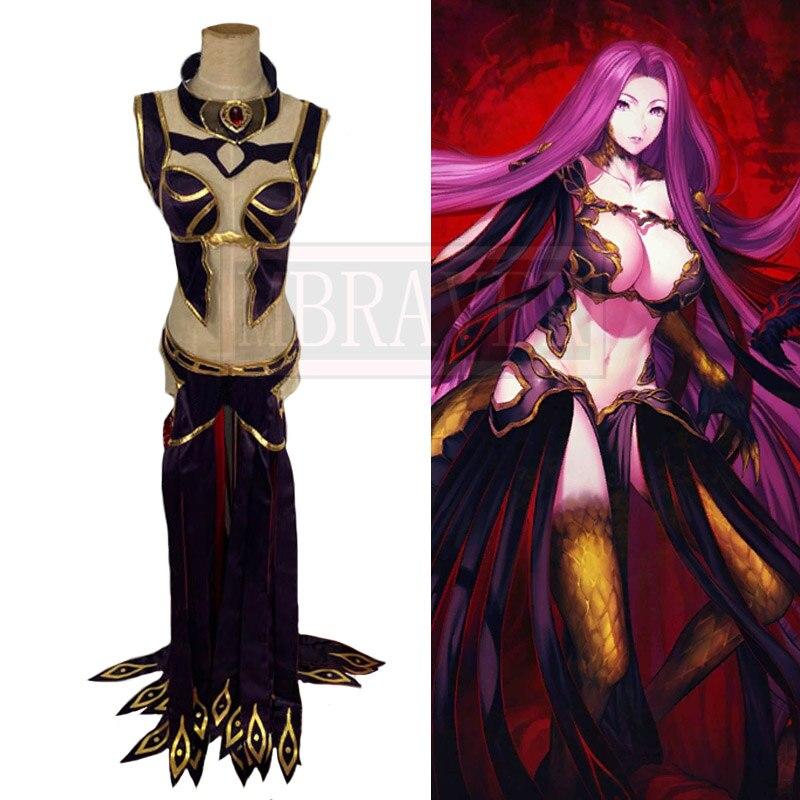 زي تنكري لحفلة الهالوين من Fate/Grand Order FGO Medusa ، مصمم خصيصًا لحفلات أعياد الميلاد ، لجميع الأحجام