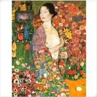 famous artwork by gustav klimt diamond embroideryfullrhinestone5ddiy diamond paintingcross stitchdiamond mosaic