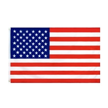 WN 60X90 90X150cm Us Flag High Quality Double Sided Printed Polyester American Grommets USA Flag