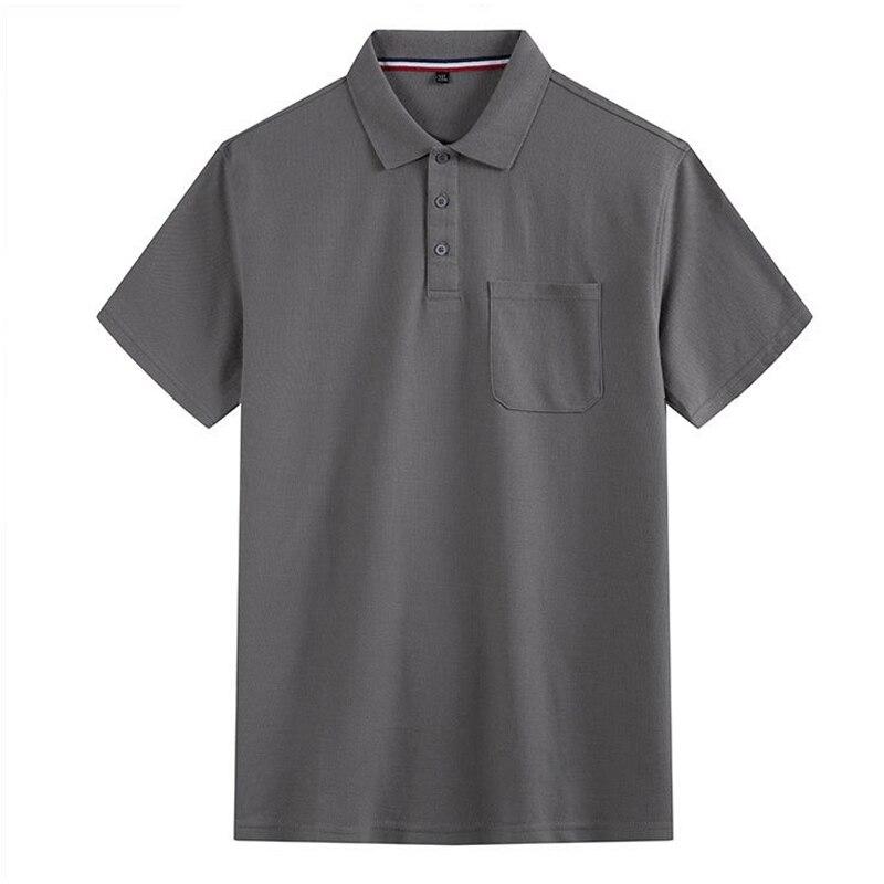 Nieuwe-قميص بولو مقاس كبير ، قميص رجالي ، تي شيرت ، قميص بولو جيب ، مريح