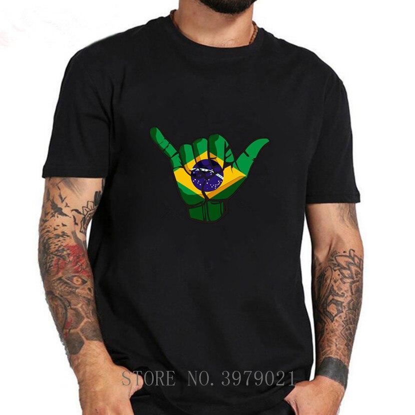 Shaka sign brasil bandera t shirt sujetador país camiseta portugal br bandera portugués imprimir foto brasil Federación diy ropa