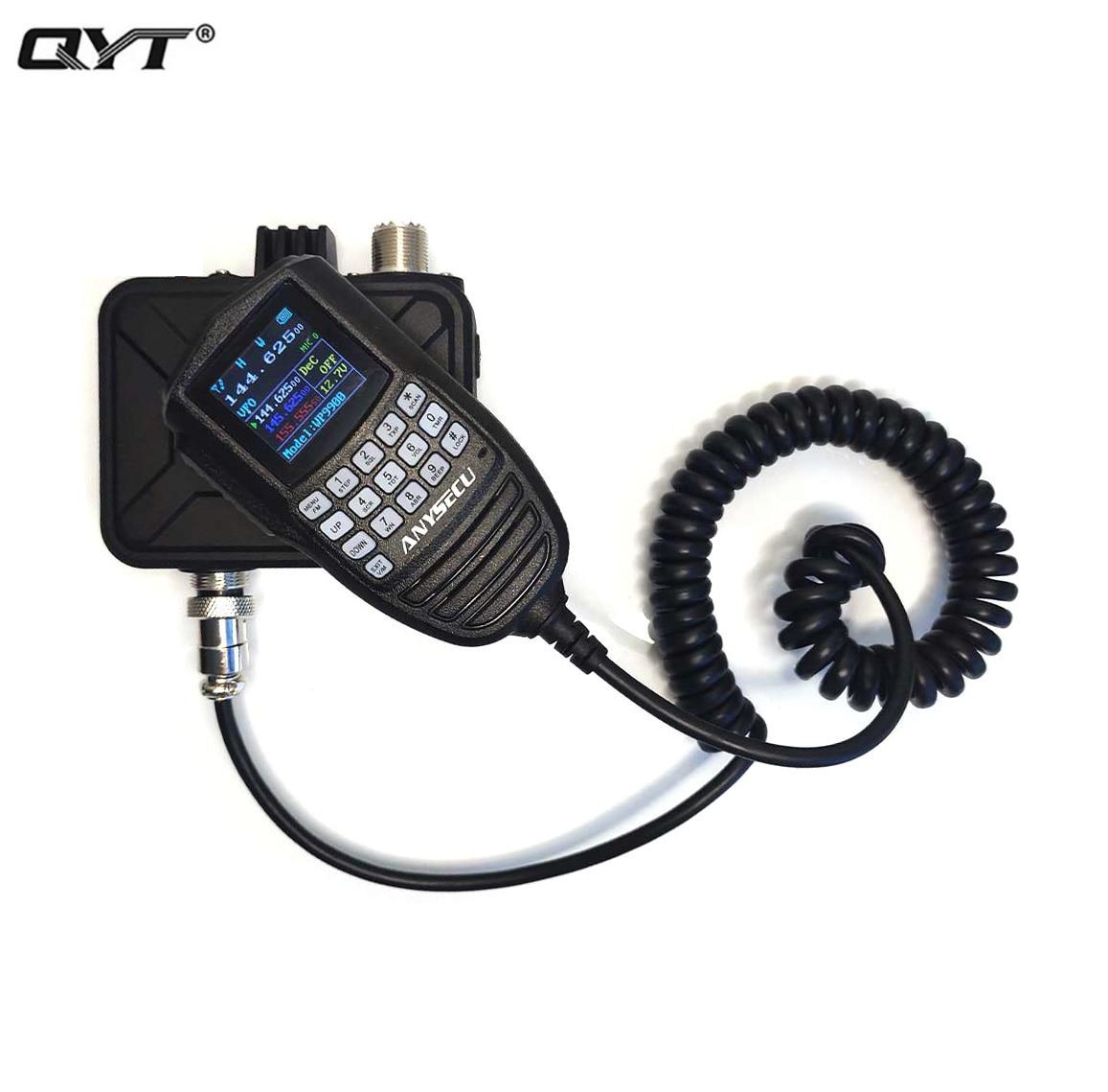 2021 جهاز مرسل ومستقبل صغير 25 واط 200 قنوات WP-9900 ثنائي النطاق رحلة عرض UHF/VHF راديو السيارة المحمول