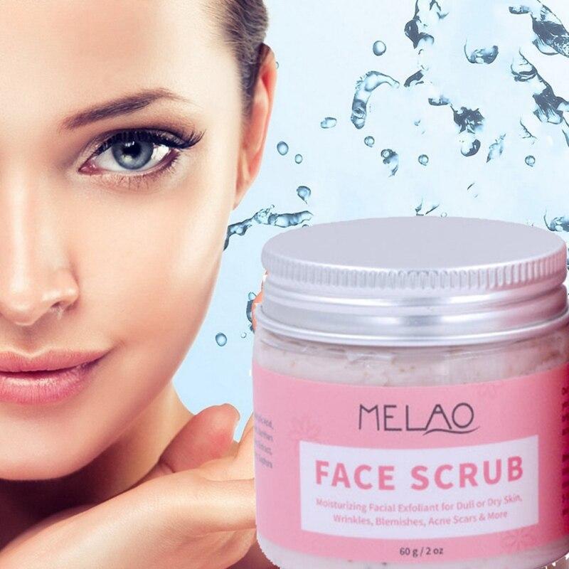 60g crema exfoliante Facial humedad exfolia las manchas de arrugas cicatrices de...