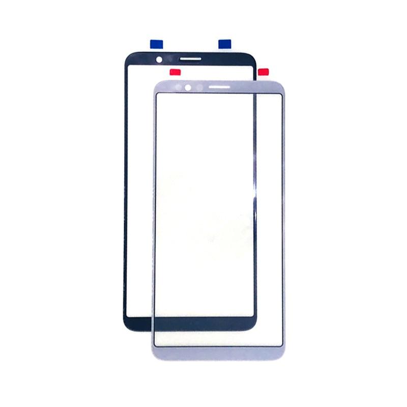 Pantalla exterior para Xiaomi Redmi 5 Plus 5 Plus Front Panel táctil LCD Pantalla de vidrio cubierta de teléfono reparar partes