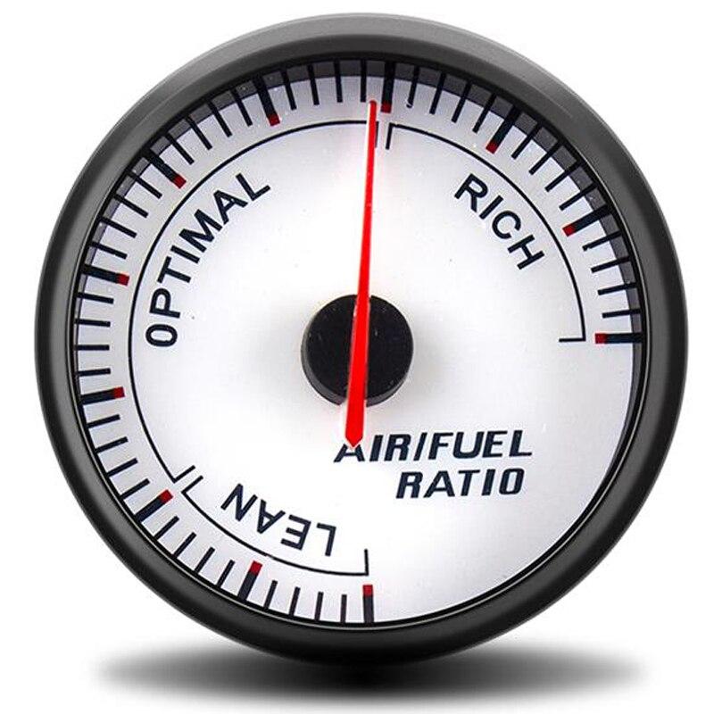 60 мм указатель Цифровой Автомобильный датчик соотношения топлива гонок