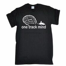 Camiseta Karting Racer divertida estilo One Track novedad 2019 para hombre, camiseta de moda para hombre, camiseta veraniega Mind Go-Kart