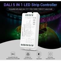 miboxer dl5 dali 5 in 1 brightness controller for rgbrgbwrgbww or rgbcct led strip