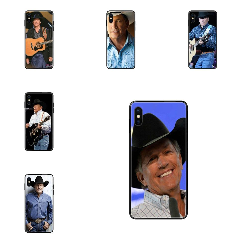 Soft Silicone TPU Black Cases Skin George Harvey Strait American Music For Redmi Note 4 5 5A 6 7 8 8T 9 9S Pro Max